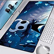 Tappetino Mouse Gaming Grande Hollow Knight Gaming Mouse Pad Large Mouse Mat Game Tastiera Tastiera Mat Cafe M