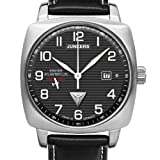 Junkers Herren-Armbanduhr 1. Atlantikflug Ost-West Analog Automatik Leder 64502