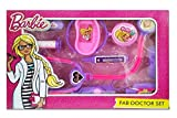 Zitto Barbie Doctor Set Doctor Nurse Family Operated Set 10 Pieces