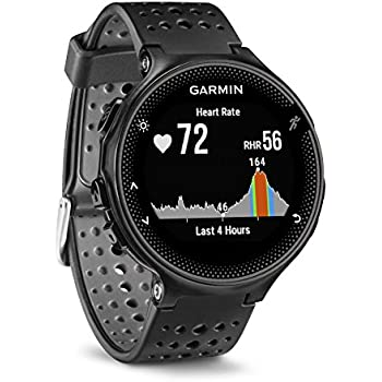 Garmin Forerunner 235 WHR Laufuhr - 24/7 Herzfrequenzmessung am Handgelenk, Smart Notifications, Aktivity Tracker, 1,2 Zoll (3cm) Farbdisplay