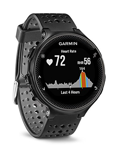 Garmin Forerunner 235 WHR Laufuhr, 24/7 Herzfrequenzmessung am Handgelenk, Smart Notifications, Aktivity Tracker, 1,2 Zoll (3cm) Farbdisplay