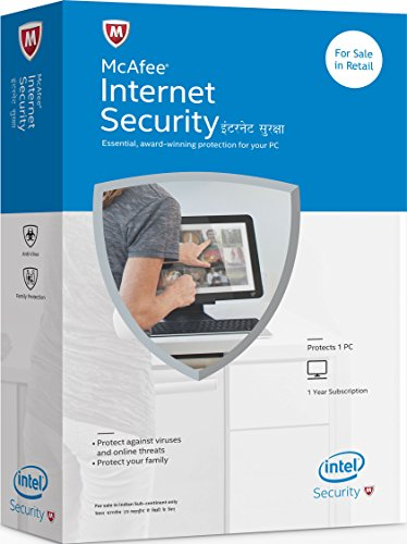 McAfee Internet Security - 1 PC, 1 Year (CD/DVD)