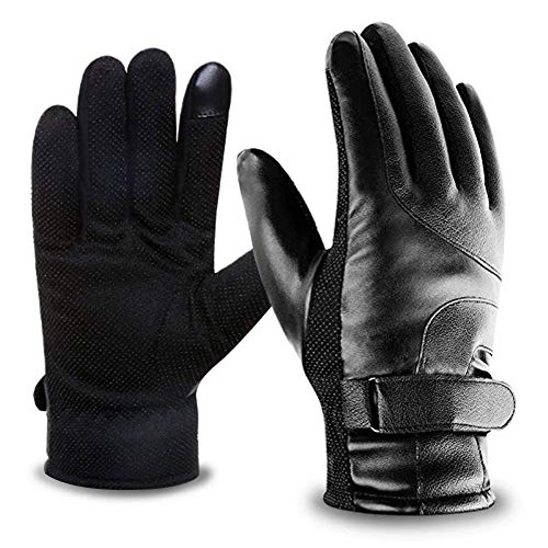 ad9864d8980 Hibbent Men s Ski Gloves Winter Gloves Sport Gloves with Sensitive  Touchscreen Function Idea for