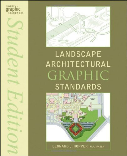 Landscape Architectural Graphic Standards (Ramsey/Sleeper Architectural Graphic Standards Series) by Hopper, Leonard J. Published by Wiley Student edition (2007) Paperback
