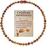 Best Necklace Mood - Mommy's Touch® 100% Natural Amber Teething Necklace For Review