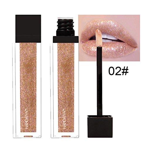ESAILQ Neue 12 Farben Wasserdicht Langlebige Flüssige Samt Matte Lippenstift Make-Up Lipgloss (B)