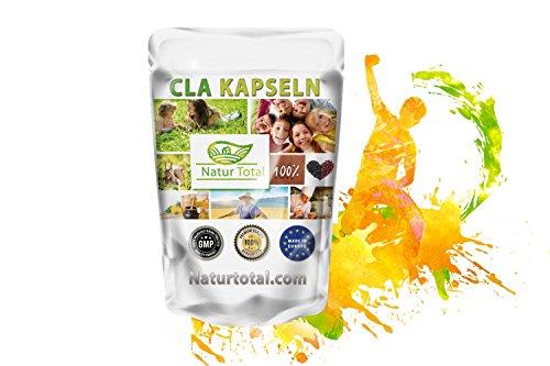 CLA Kapseln 1000mg konjugierte Linolsäure: 500 Kapseln - Konjungierte Fettsäuren - Abnehmen - Muskelaufbau - Diät - Garantiert Glutenfrei
