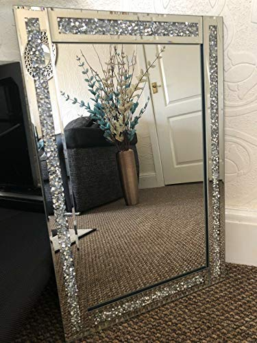 LARGE JEWEL WALL MIRROR LOOSE DI...