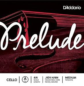 D'Addario Prelude Cello Single A String