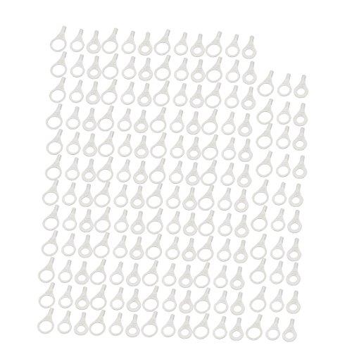 sourcing map 150Stk 3 Nackten Rks Form Nicht isolierte Klemmen Kabel Stecker de -