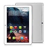 4G LTE Tablette Tactile 10 Pouces-TOSCIDO Android 9.0 Certifié par Google GMS,4Go RAM,32Go ROM+32Go TF Carte Intégré,Octa Core 2GHz CPU Haute Vitesse,Doule Sim,WiFi,Double Haut-Parleur Stéréo- Argento
