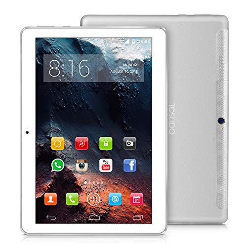 tablet 3g 10 pollici offerta TOSCIDO 4G LTE Tablet 10 Pollici - Android 9.0 Certificato da Google GMS