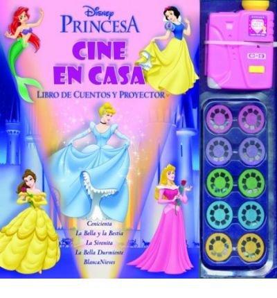 Cine En Casa Princesa: Disney Princesses (Cine En Casa Disney) (Hardback)(English / Spanish) - Common