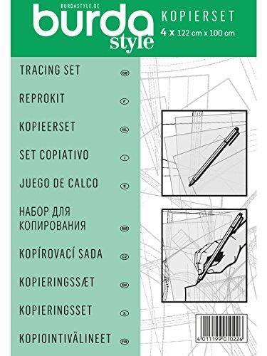 Burda Style Kopierset Kopierfolie und Stift