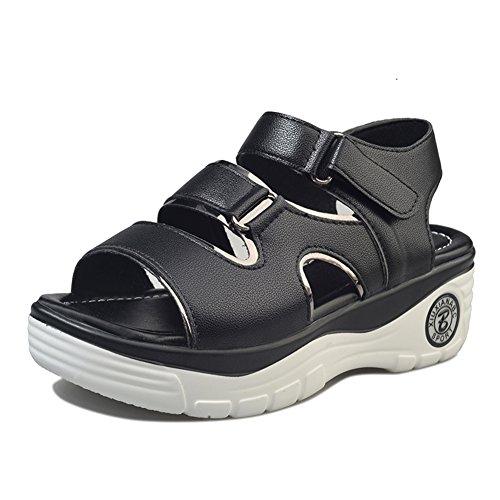 Mode Coréenne Cent Sandales, Cales Chaussures Plate-forme , Casual Shoes A