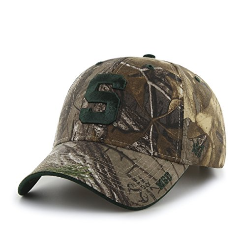 ncaa-michigan-state-spartans-frost-mvp-adjustable-hat-one-size-realtree-camouflage
