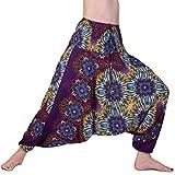 PANASIAM Aladinhose: Mandalablaze, Purple