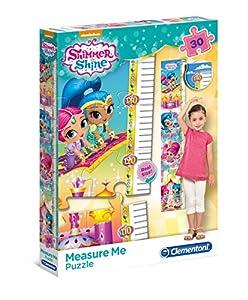 Clementoni 20322Shimmer y Shine-Máxima de Measure Me Puzzle, 30Piezas