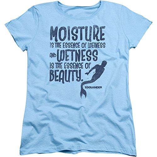 zoolander-t-shirt-t-shirt-con-stampe-maniche-corte-opaco-donna-blue-xx-large