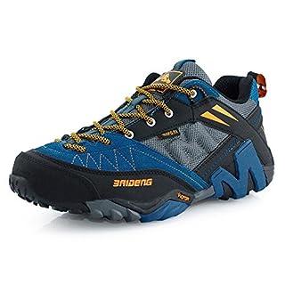 RDJM Chaussures de sport pour hommes en plein air imperméable chaussures de randonnée occasionnels chaussures de course chaussures d'alpiniste , b , 42