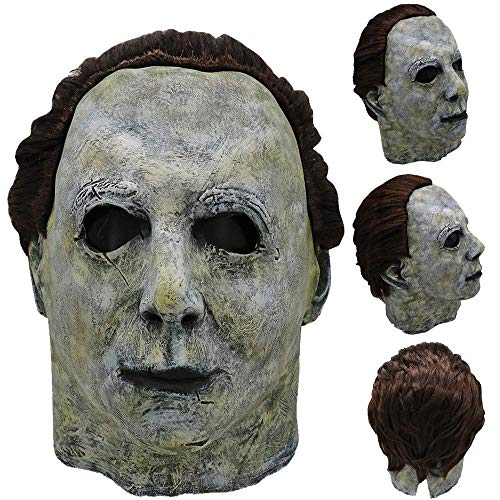 Watopi Michael Myers Maschera realistica da Uomo per Halloween e Carnevale