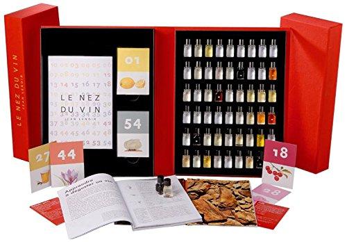 jean Renoir 8051418560077 Le nez du vin, 54 Aromen, die große Kiste ,italienischer Sprache - 54 In Jeans