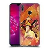 Head Case Designs 8 Im Galopp Jahr des Pferdes Soft Gel Hülle für Huawei Honor View 10 Lite