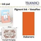 Habanero Versafine Tsukineko Détails Fins Pigment Encre Tampon Pour Timbre En Caoutchouc Séchage Rapide