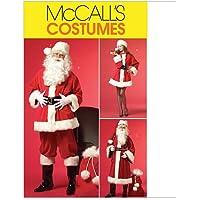 McCall's M5550 - Patrones de costura para disfraz de Papá Noel (3 diseños)
