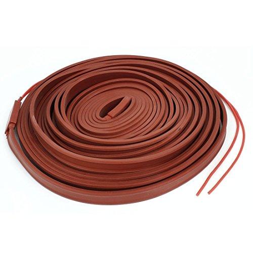 Red Wasserdicht Heizband Band Rohr Heizkabel 15mm Breite 10M 48V (Heizkabel Rohre Für)