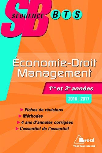 Economie-Droit et Management BTS tertiaires 1re et 2e annes