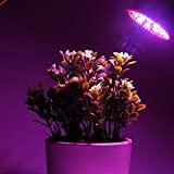 Esbaybulbs Led Grow Light Bulbs,Full Spectrum Grow Lamp,E27 28W LED Grow Lights,Professional for Seedling Growing Blooming Fruiting (4 Pack) Bild 6