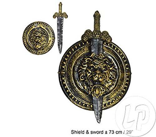 Gladiator Set Schwert und Schild - Tolles Accessoire zu Kostümen der (Schild Kostüme)