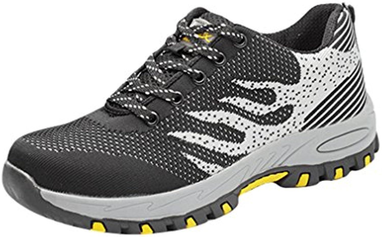 Zapatillas de Seguridad para Hombre Ligeras Unisex Adulto Calzado de Trabajo para Comodas