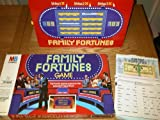 FAMILY FORTUNES GAME. VINTAGE ORIGINAL 1981 ISSUE MB GAMES. BASED ON THE TV SERIES