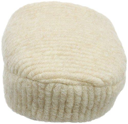 Woolsies Damen Waffle Natural Wool Mule Pantoffeln Beige
