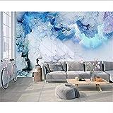 Svsnm Moderne Minimalistische Nordische Persönlichkeitszusammenfassung Bunte Wolken Tapezieren Fernsehhintergrund-Wandpapiere Hauptdekor-500cm(W) x320cm(H)