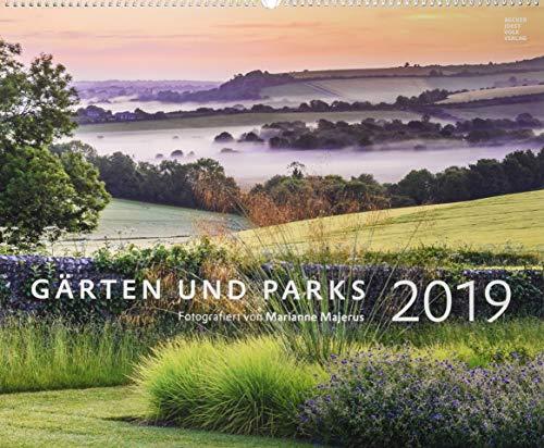 Gärten und Parks 2019 - Gartenkalender - Landschaftskalender (58 x 48) - Naturkalender