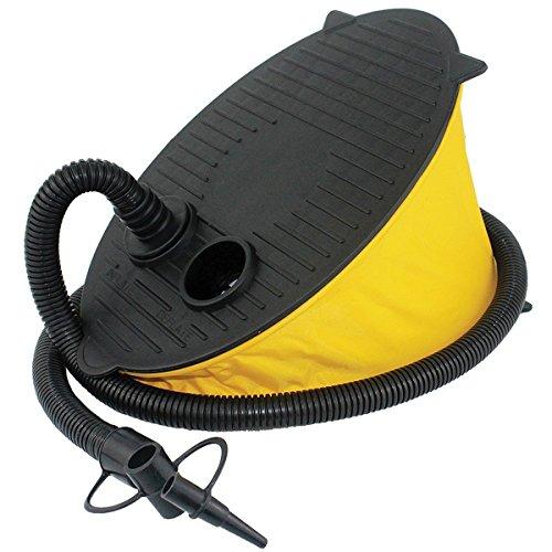 Yeasing pompa a piede gonfiatore per outdoor campeggio airbeds materasso o per nuoto anello gonfiabile galleggiante barca o palloncino portable