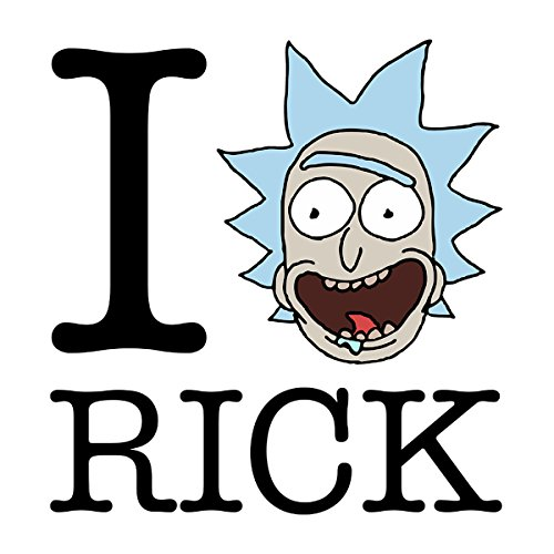 Rick And Morty I Love Rick Women's Vest white