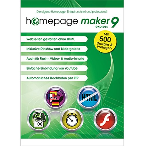 homepage maker 9 Express [Download]