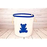 Sailcloth Toy Storage Bucket - Handmade from recycled sailcloth