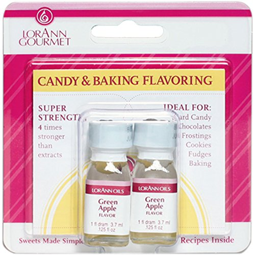 Candy & Baking Flavoring .125oz 2/Pkg-Green Apple -