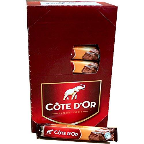 Côte d'Or Schokoladen-Riegel Dessert 58, 32 x 45g IMPORT (Vollmilchschokolade gefüllt mit Mandel- & Cashew Creme)
