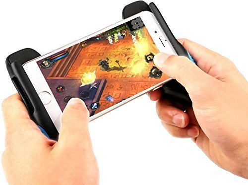 Mazonn™ Universal Hand Grip Support Game Controller Joystick for 4.5 to 6.5 inch Mobile (Multi Color)