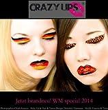 Crazy Lips Lippentattoo EM special 2016 Deutschland 3er Set Europameisterschaft Frankreich. Deutsche Flagge