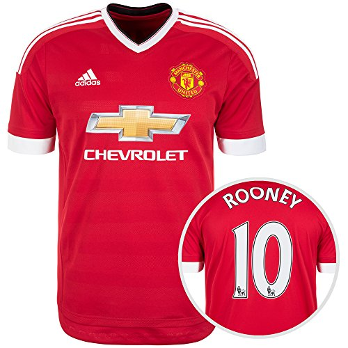 Trikot Manchester United 2015-2016 Home - Rooney [Größe M]