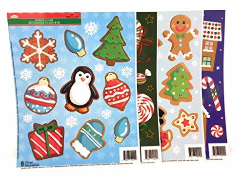 Greetings Happy Holiday Dekoration Decor Fenster Selbst Dekorationen Aufkleber Bundle ()