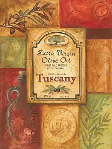 The Poster Corp Gregory Gorham - Tuscan Olive Oil Kunstdruck (45,72 x 60,96 cm) Gorham Olive