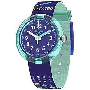 Flik Flak Jungen Analog Quarz Uhr mit Textil Armband FPNP050